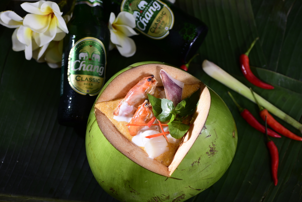 Thai Coconut Curry Seafood